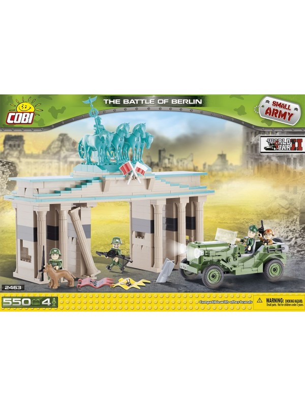 2463 - THE BATTLE OF BERLIN - Small Army - WORLD WAR II - COBI