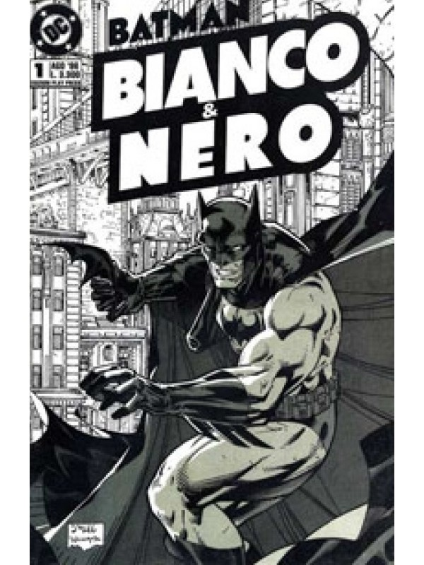 Batman Bianco & Nero (1996) - Play Press - Serie completa 1/4