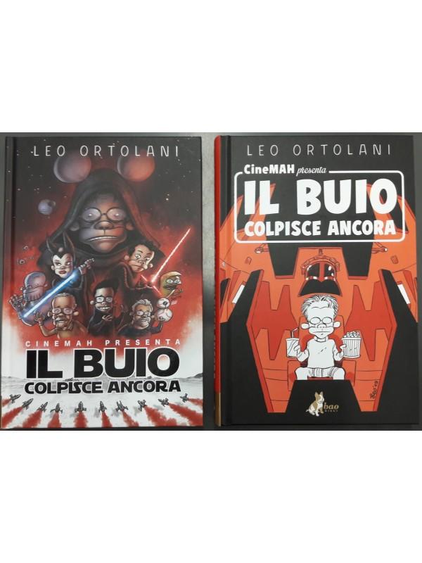 Pack CineMAH presenta Il Buio Colpisce Ancora Variant Cover + Regular Cover - Bao Publishing - Leo Ortolani