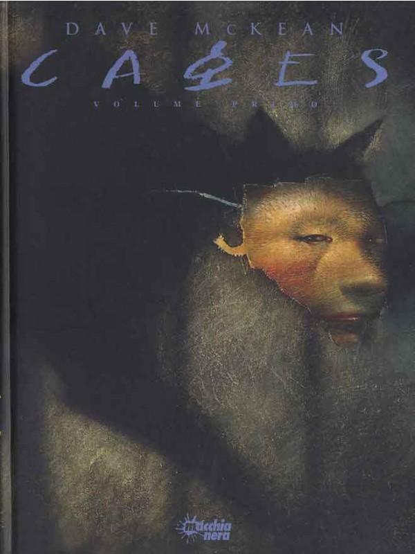 Cages - Macchia Nera - Serie completa di 5 volumi cartonati