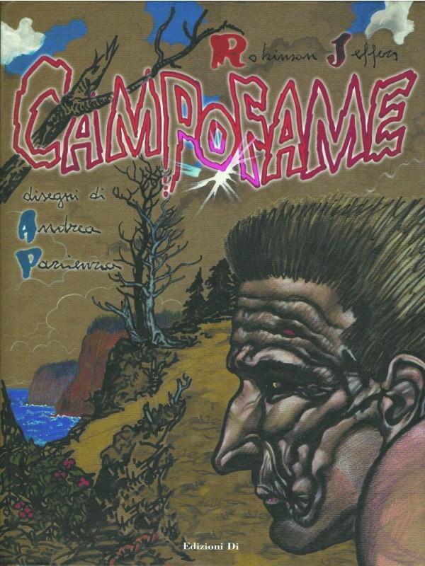 CampoFame - Andrea Pazienza - Edizioni Di - con libretto Tre Canti
