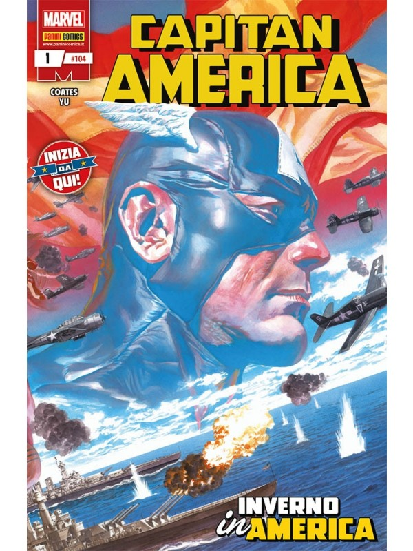 Capitan America - Panini Comics - Sequenza in blocco 1/10 + Annual