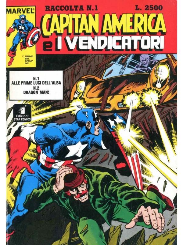 Capitan America e i Vendicatori RACCOLTA - STAR COMICS - Sequenza in blocco 1/15