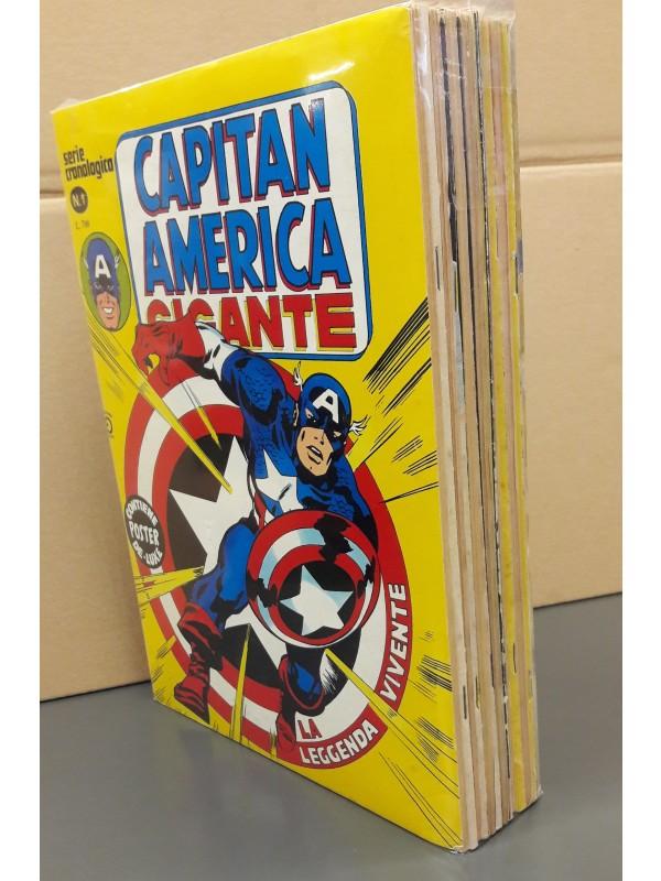 Capitan America Gigante - Editoriale Corno - Serie Completa 1/14