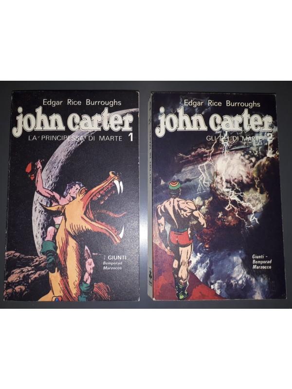 John Carter - Giunti - Bemporad/Marzocco - 1971/1975 - Serie completa 1/2