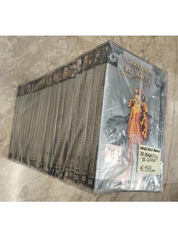 I Cavalieri dello Zodiaco - Gold Edition - DeAgostini - 24 Dvd