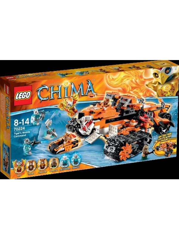 70224 - Tiger's Mobile Command - Lego Legends of Chima