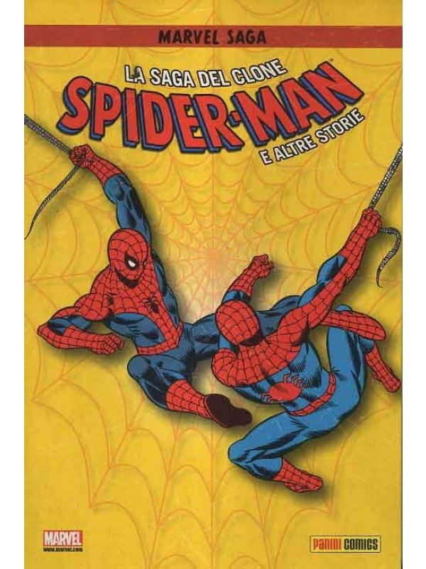 Spider-Man La Saga del Clone e Altre Storie - Marvel Saga - Serie completa 1/4 + Cofanetto