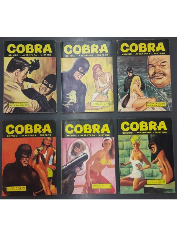 Cobra - Edizioni Alhambra - Serie completa 1/6