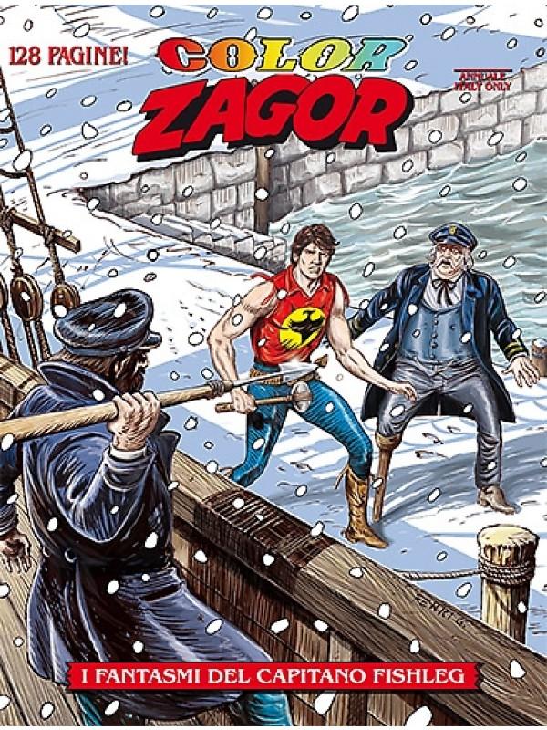 Color Zagor - sergio Bonelli Editore - Sequenza in blocco 1/7
