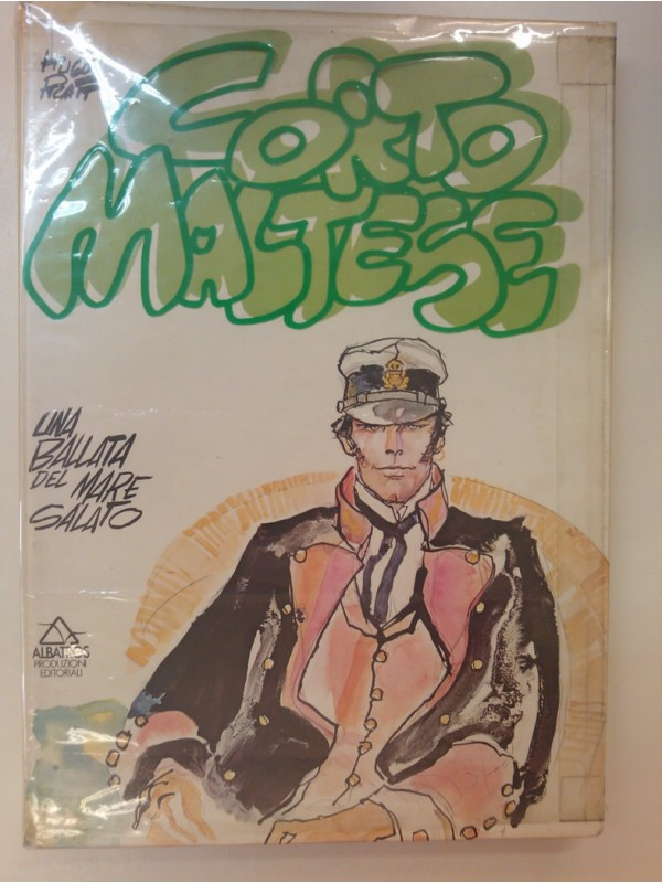 UNA BALLATA DEL MARE SALATO - CORTO MALTESE - HUGO PRATT  Albatros 1976 (con sovracoperta)