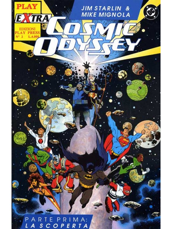 Cosmic Odyssey - Play Extra - Play Press - Serie completa 1/4