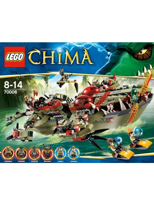 70006 - Cragger's Command Ship - Lego Legends of Chima