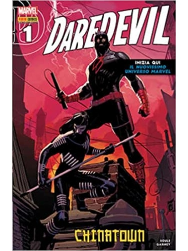 Daredevil - Devil & i Cavalieri Marvel - Panini Comics - Sequenza in blocco 1/6