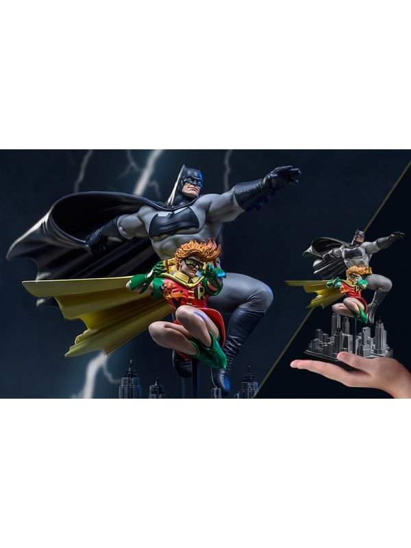 Batman & Robin - The Dark Knight Returns by Frank Miller - Art Scale 1/10 Deluxe - Iron Studios