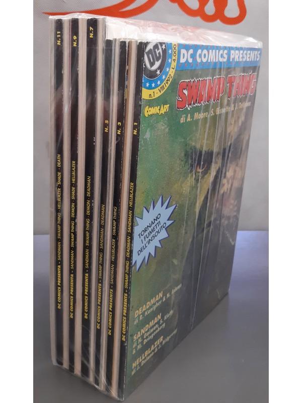 DC Comics Presenta - Comic Art - Sequenza in blocco 1/12