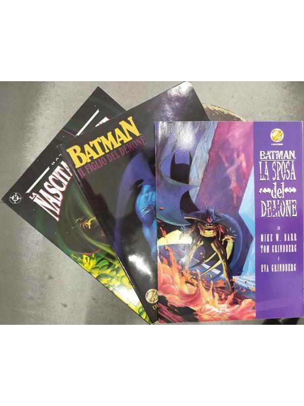 Batman - Trilogia del Demone - Play Press - Pack 3 volumi