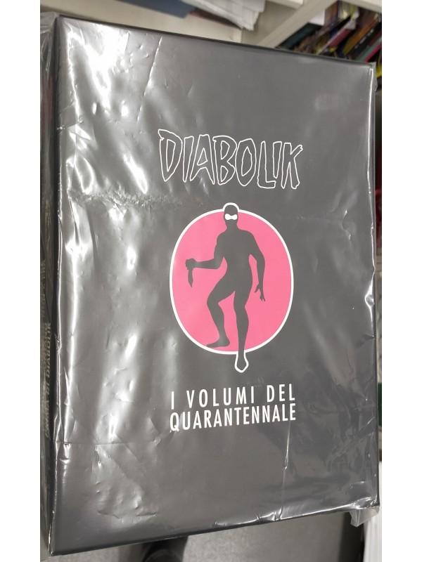 Diabolik - I Volumi del Quarantennale - Astorina - Serie Completa 1/4