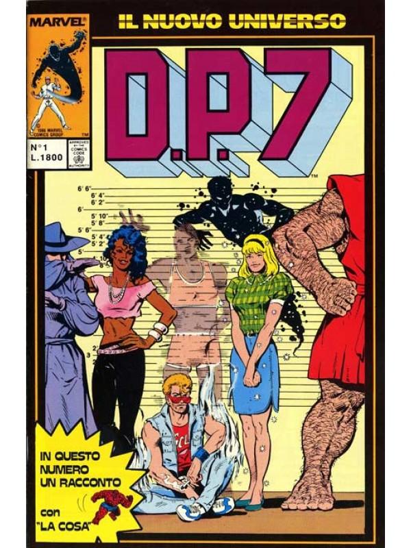 D.P.7 - Play Press - Serie completa 1/16