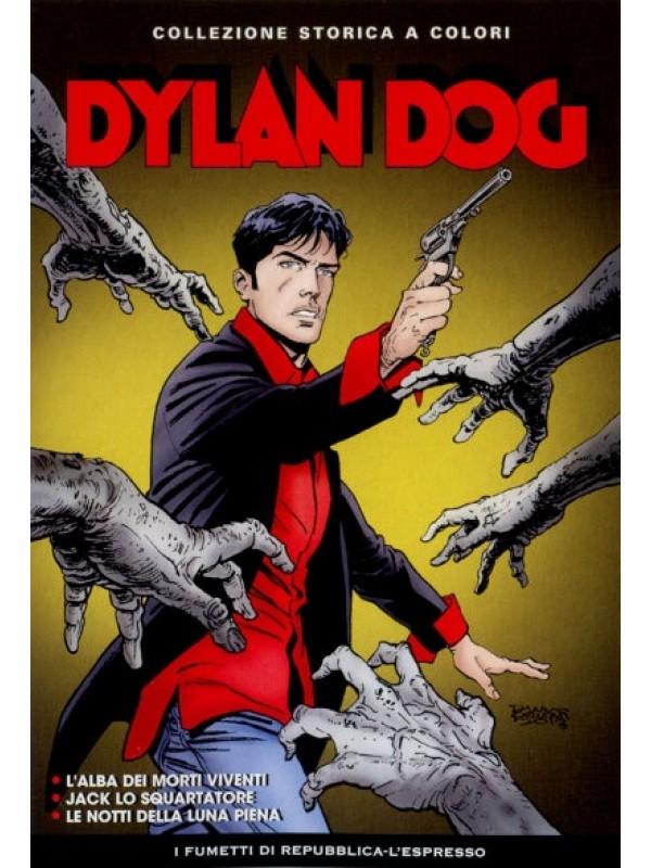 Dylan Dog - Collezione Storica a Colori - I Fumetti di Repubblica-L'Espresso - Serie completa 1/50