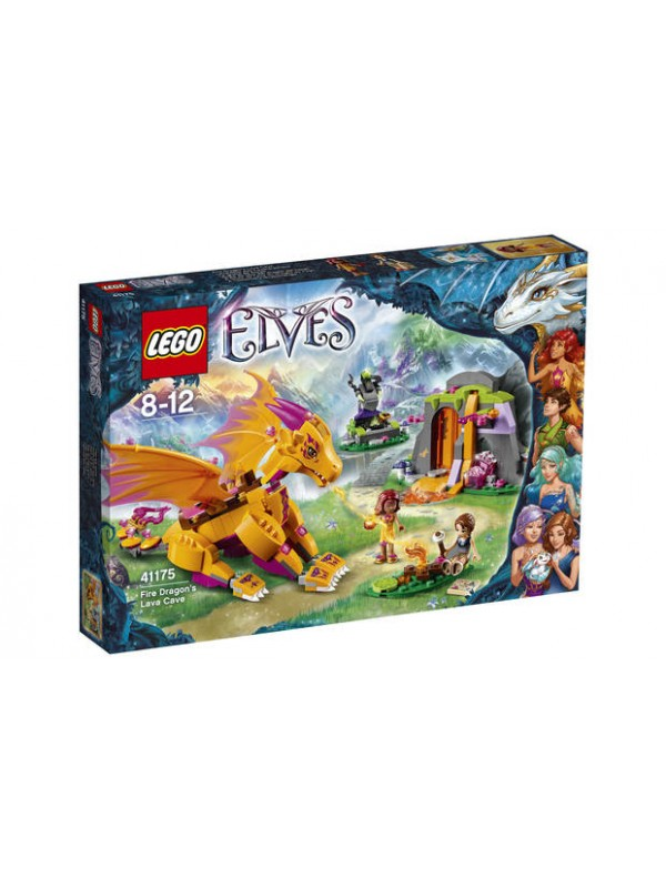 41175 - Fire Dragon's Lava Cave - Lego Elves