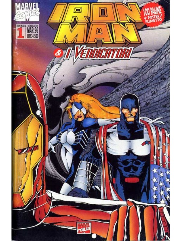 Iron Man & i Vendicatori - Dal n. 1 al n. 81 - Sequenza Completa