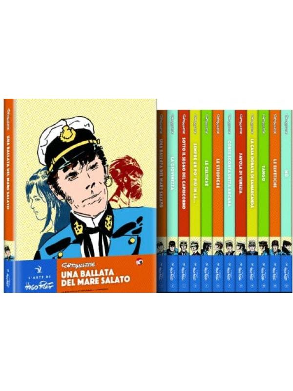 Corto Maltese - L'Arte di Hugo Pratt - La Biblioteca di Repubblica - L'Espresso - Serie completa 1/12