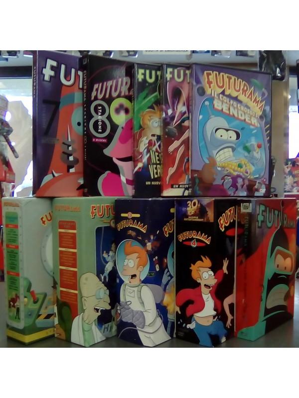 Futurama - DVD - 20th Century Fox - Serie completa Stagioni 1/8 + 3 Film