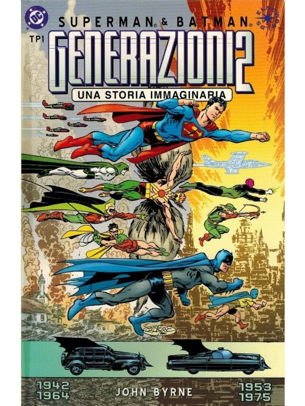 Superman & Batman Special - Generazioni 2 - Una Storia immaginaria - Play Press - Miniserie completa 1/2