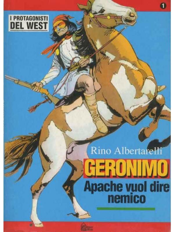 Collana i Protagonisti del West - Rino Albertarelli - Hobby & Works - Serie completa 1/10 con fascicoli