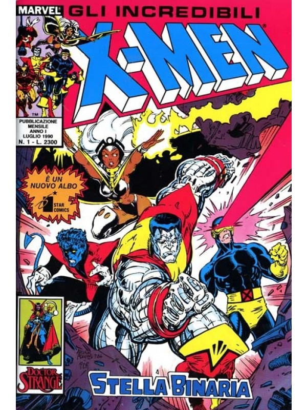 Gli Incredibili X-Men - Star Comics / Marvel Italia (Panini Comics) - Sequenza in blocco 1/100 + N. 0 + 7 Speciali