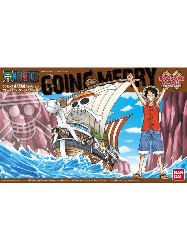 GOING-MERRY - ONE PIECE - GRAND SHIP COLLECTION - Model Kit - Bandai