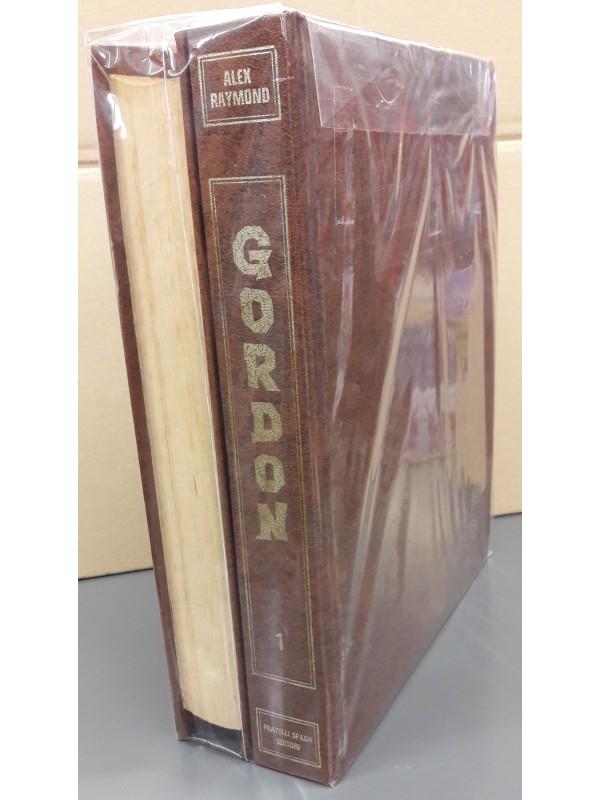 Flash Gordon - Albi Rilegati con Copertine - Fratelli Spada - Sequenza in blocco 1/16 completa di 2 raccoglitori cartonati originali