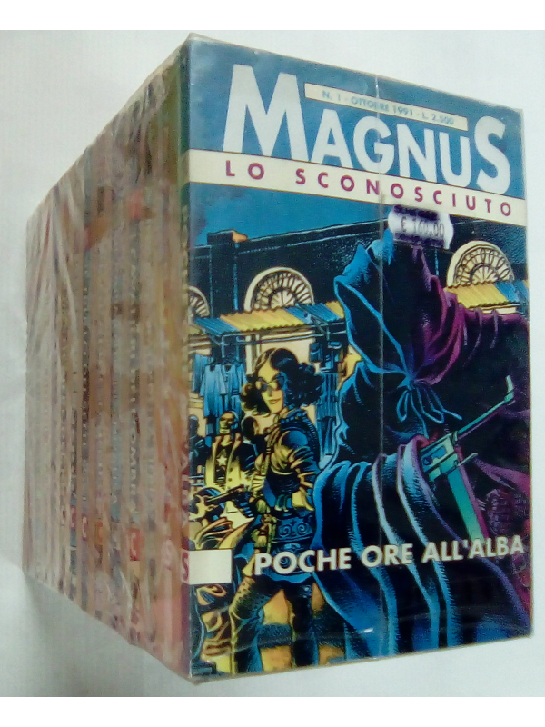 Schegge Magnus - Granata Press - Serie completa 1/26