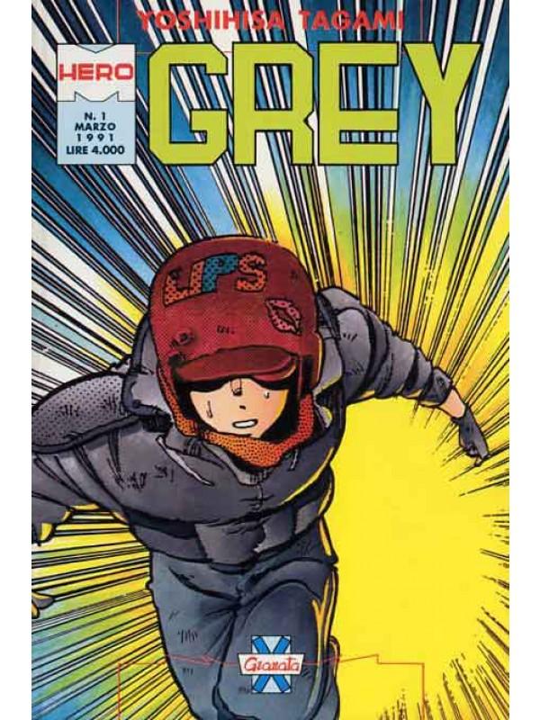 Grey - Granata Press - Serie completa 1/9