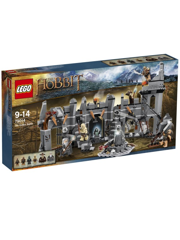 Lego The Hobbit - The Desolation of Smaug - 79014 - Dol Guldur Battle