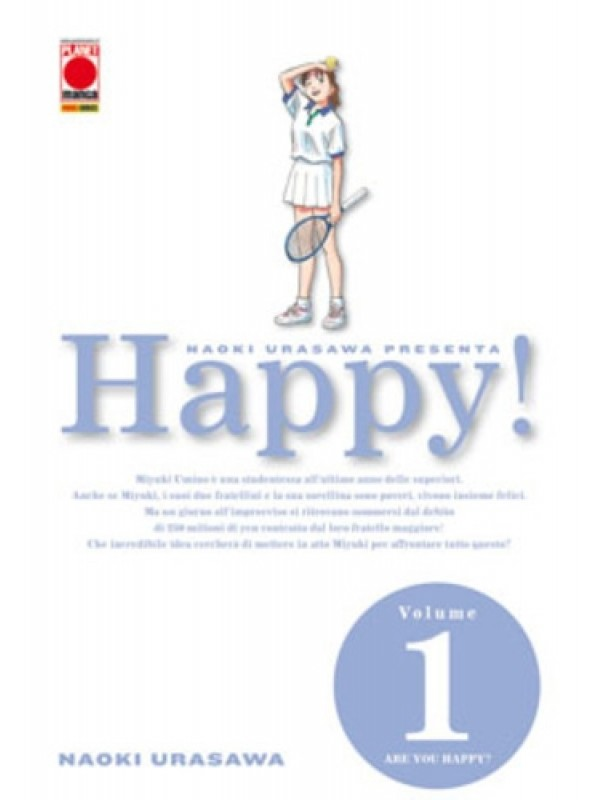 Happy! - Planet Manga - Serie completa 1/15