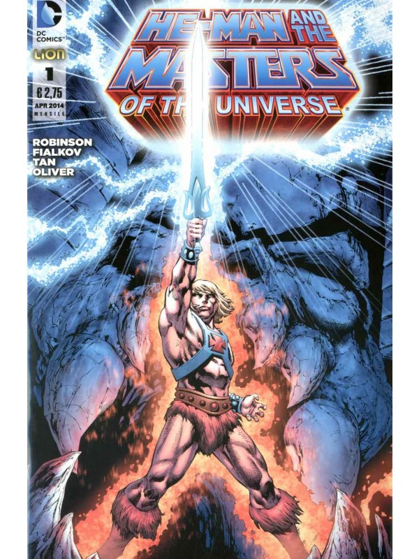 He-Man and The Masters of The Universe - Lion - Serie completa 1/27