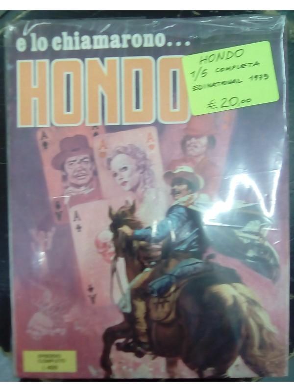 E lo chiamarono... HONDO (1975) - Edinational - Serie completa 1/5