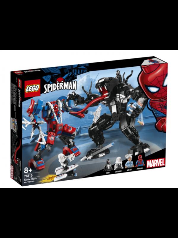 Lego 76115 - Spiderman - Spider Mech Vs Venom - Marvel