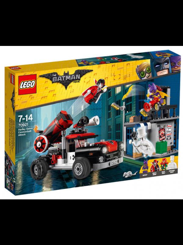 Lego 70921 - Attacco con il cannone di Harley Quinn - The Batman Movie - DC Comics