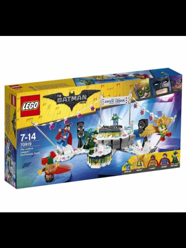 Lego 70919 - La Festa di anniversario della Justice League - The Batman Movie - DC Comics