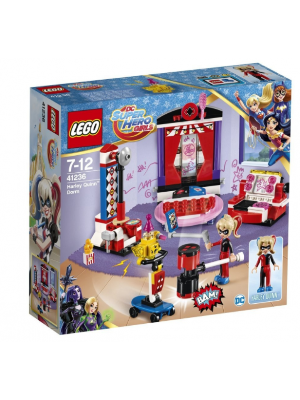 Lego 41236 - Il dormitorio di Harley Quinn - Dc Super Hero Girls