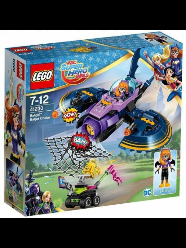 Lego 41230 - L'inseguimento Sul Bat Jet Di Batgirl - Dc Super Hero Girls