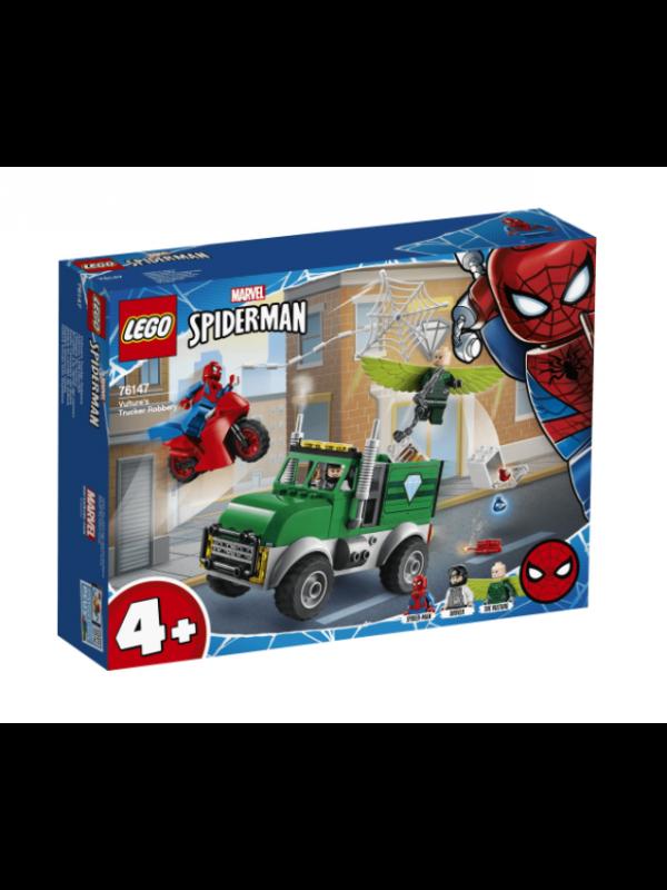 Lego 76147 - Spiderman - Avvoltoio e la Rapina del Camion - Marvel