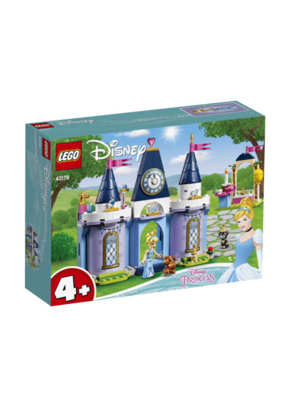 Lego 43178 - La Festa al Castello di Cenerentola - Disney Princess