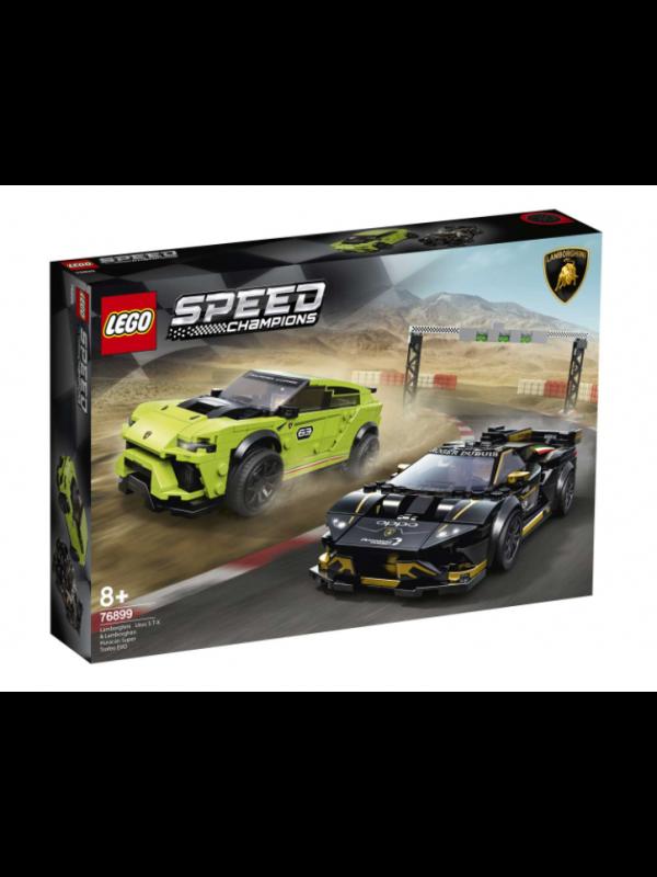 Lego 76899 - Lamborghini Urus ST-X & Lamborghini Huracán Super Trofeo Evo - Speed Champions