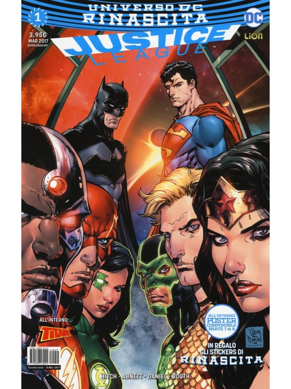Justice League - Universo DC Rinascita - Sequenza in blocco 1/60
