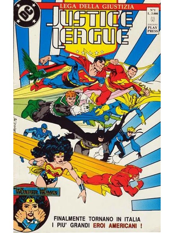 Justice League - Lega della Giustizia - Play Press - Serie completa 1/33