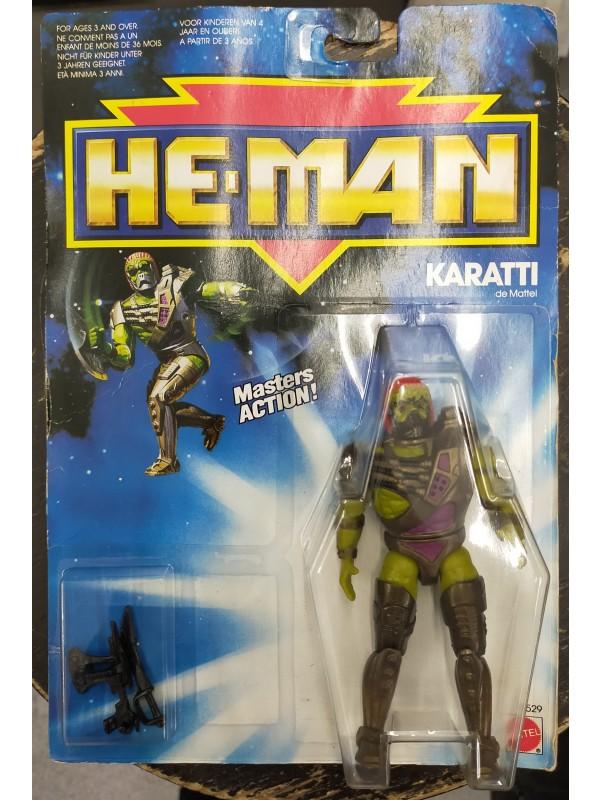Karatti - He-Man - Masters Action (Motu) - Mattel 1989